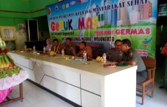 Danramil 0815/12 Ngoro Berpartisipasi Aktif Dalam Program Gepuk Mas