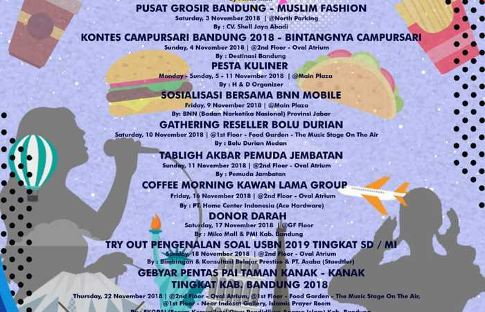 Cheerful Competition   Whats On November 2018 Di Miko Mall