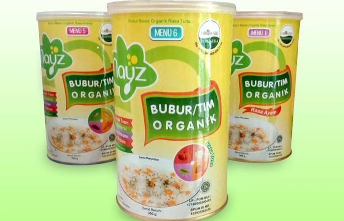 Ini Loh Bubur Bayi Organik Standar Nasional Indonesia