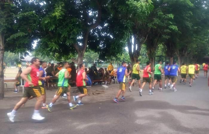 Personel Militer & ASN Kodim 0815 Laksanakan Garjas Periodik II TA. 2018