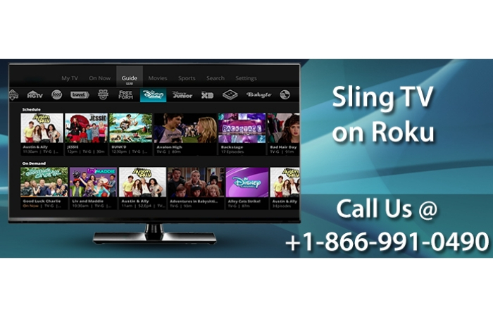 Choose Sling TV channel to engage yourself streaming