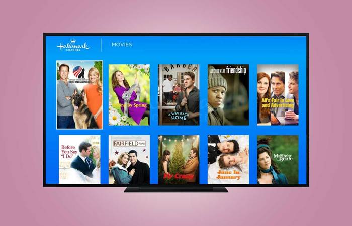 Watch Hallmark channel on Roku