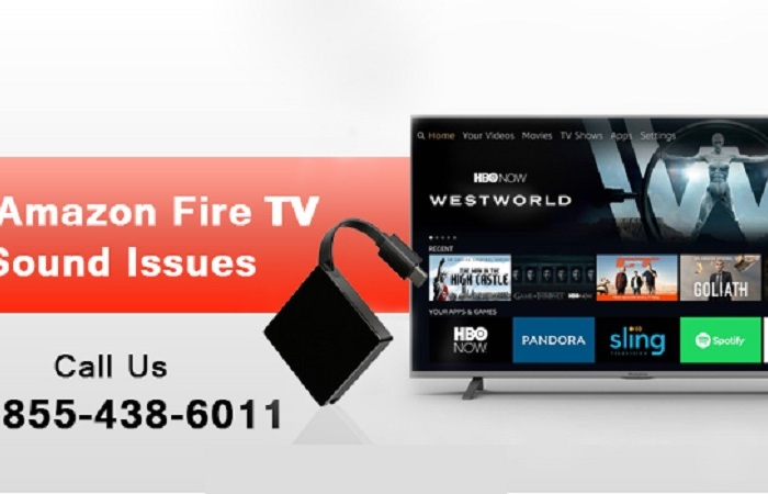 1-855-438-6011 - Fix Amazon Fire TV Sound Issues