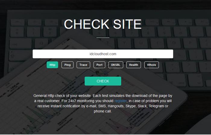 Cara Cek Website Down atau Tidak