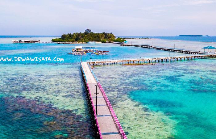 Menjelajahi Pulau Tidung