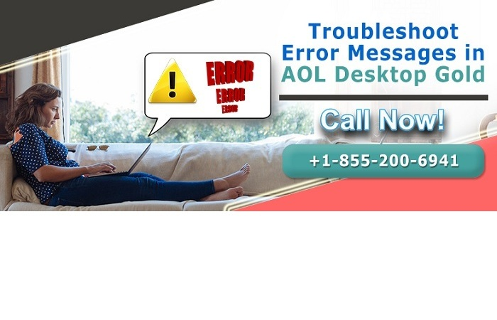 Contact  8552006941  Troubleshoot Error Messages in AOL Desktop Gold