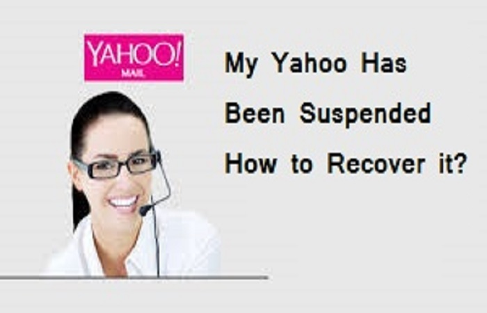 My Yahoo Has Been Suspended How to Recover it?