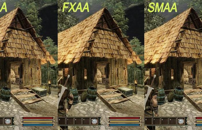 Perbedaan FXAA dan MSAA di dalam games
