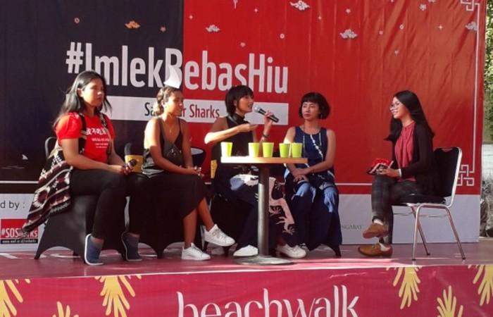 Ajak Masyarakat untuk Tidak Mengonsumsi Daging Hiu, WWF Bali Adakan Talk Show  Cerita Konservasi
