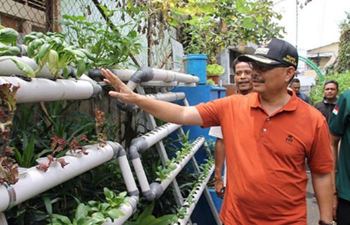 Walikota Jaksel Marullah Matali Promosikan Pertanian 4.0