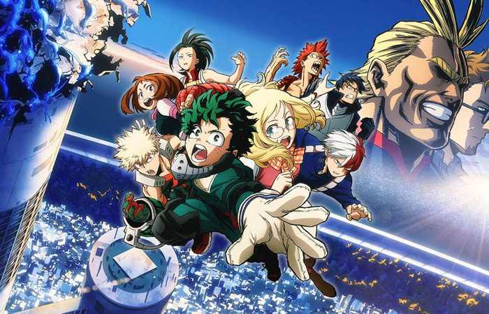 Review My Hero Academia : Two Heroes