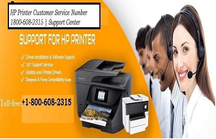 HP Printer Customer Service Number 1800-608-2315 | Support Center