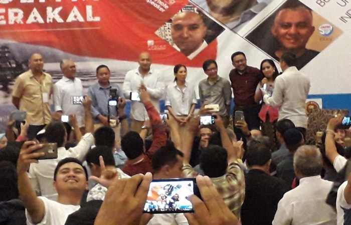 Rocky Gerung Sebarkan Virul Akal Sehat di Bali