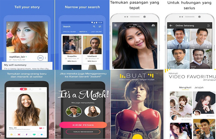 10 Aplikasi Android Pencari Jodoh dengan Fitur Melimpah