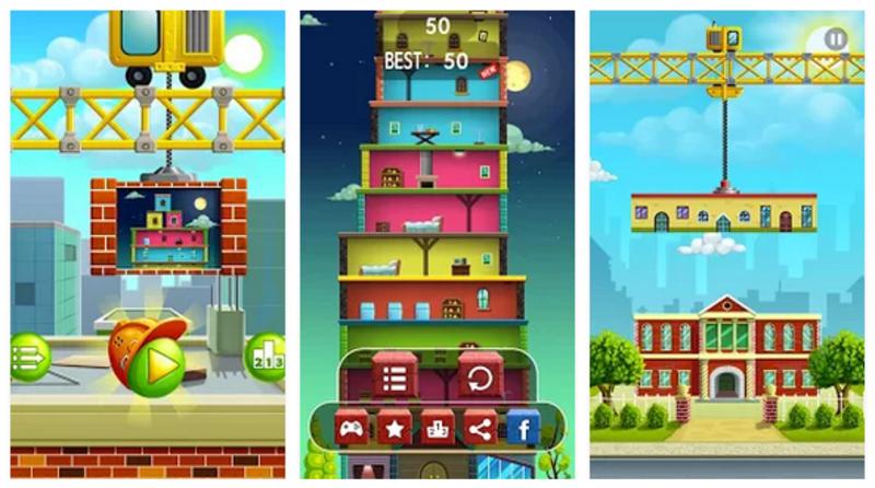 Lima Games Android Menyusun Menara yang Patut Anda Coba