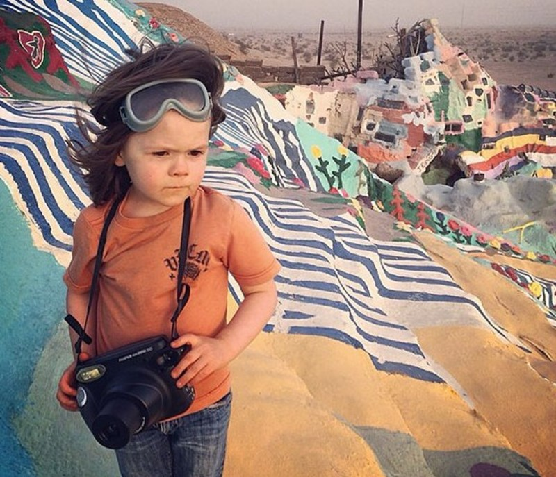 Keren! Bocah 5 Tahun Ini Merupakan Fotografer National Geographic