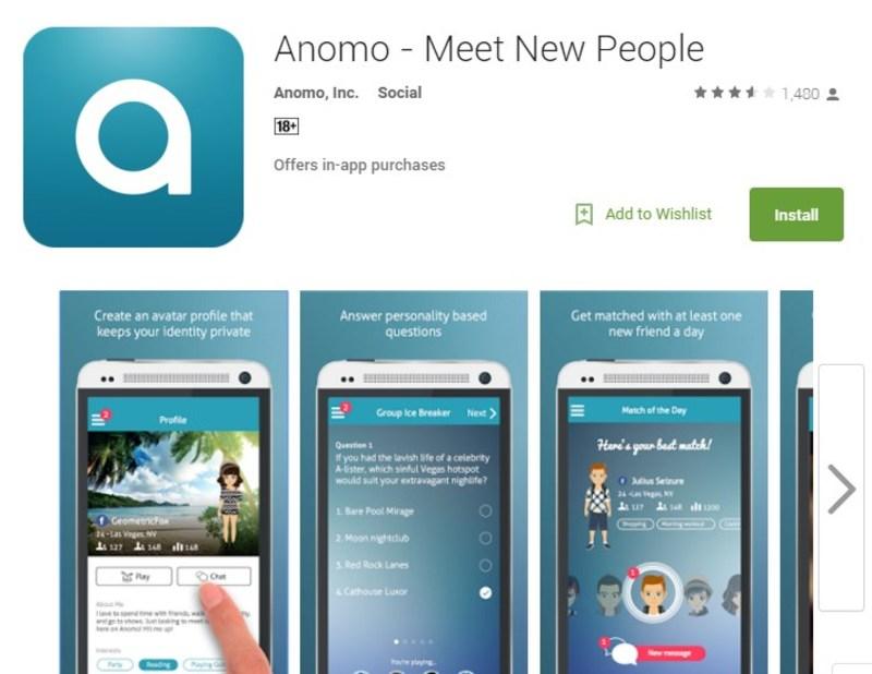 Anomo, Aplikasi Jejaring Sosial untuk yang Introvert