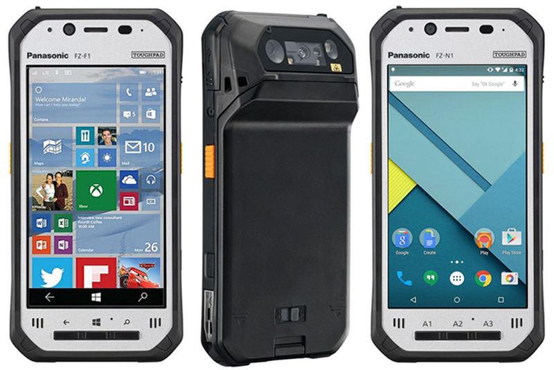 Toughpad FZ-F1 dan FZ-N1, Dua Smartphone Bermaterial Tangguh dari Panasonic.