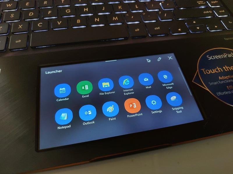 Fitur-Fitur Bermanfaat Milik ScreenPad di ZenBook Pro
