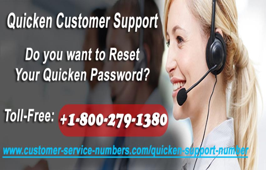 How Do I Reset My Quicken Password with Quicken Customer