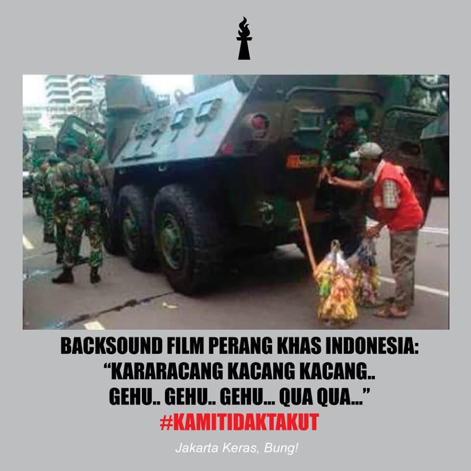 5 Sisi Lain dari Kejadian Teror Bom Sarinah Jakarta