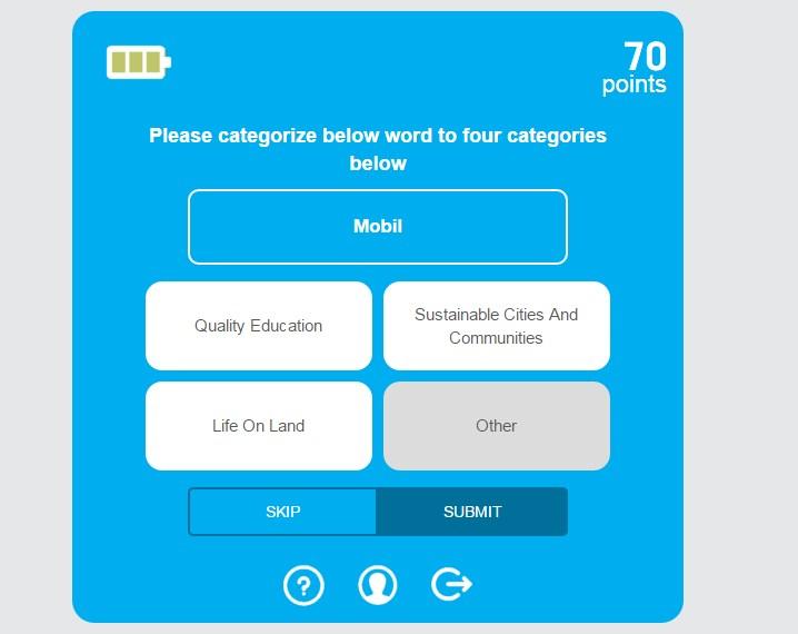 Permainan Bahasa yang Interaktif untuk Penelitian