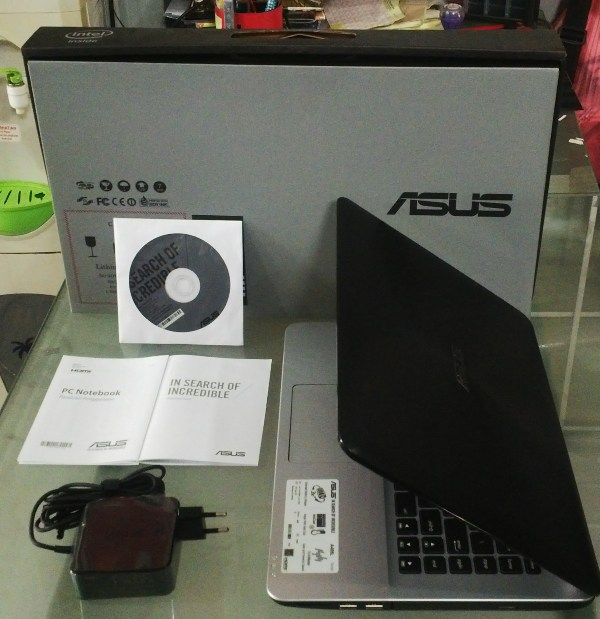 Review Asus A455LF-WX039D: Mid-End Everyday-Computating Notebook