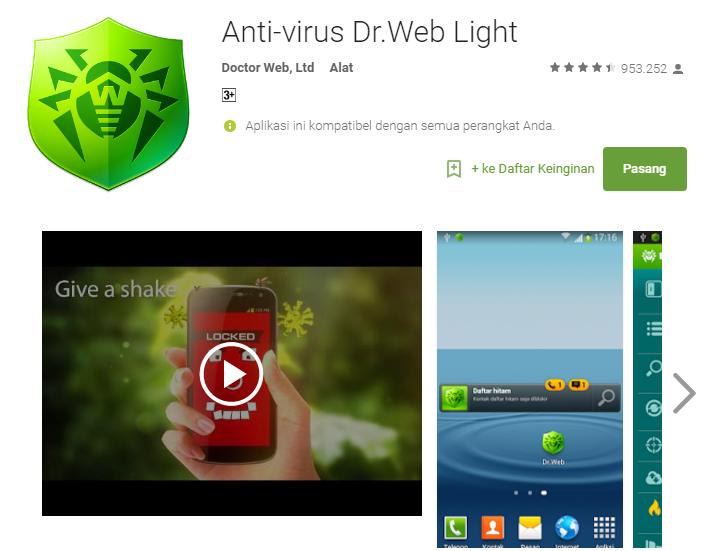 андроид антивирус веб скачать crack