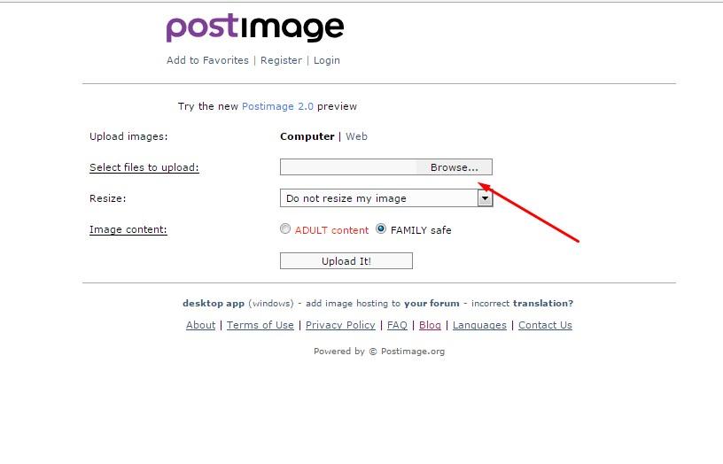 Cara Menambahkan Foto di Plimbi Menggunakan Postimage