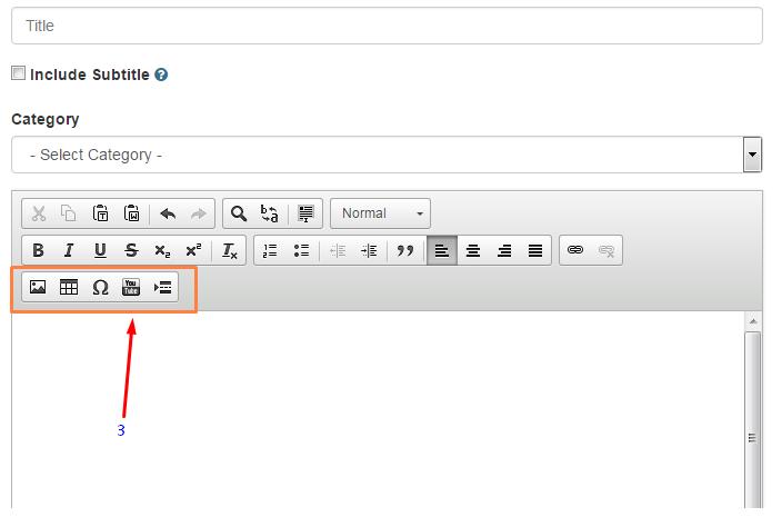 Mengenal Fungsi Toolbar yang ada di Author Panel Plimbi