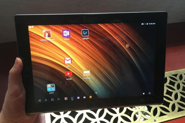 Lenovo Yoga Book ,notebook tanpa keyboard fisik dan dukungan Stylus Pen.