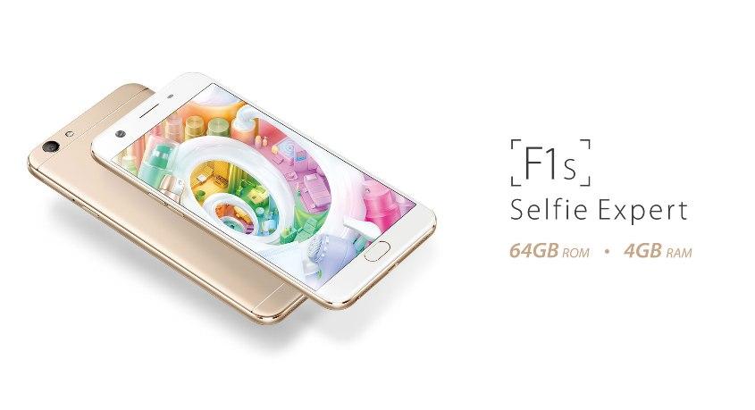 Oppo F1S New Edition, Berselfie Lebih OK Didukung Memori Besar