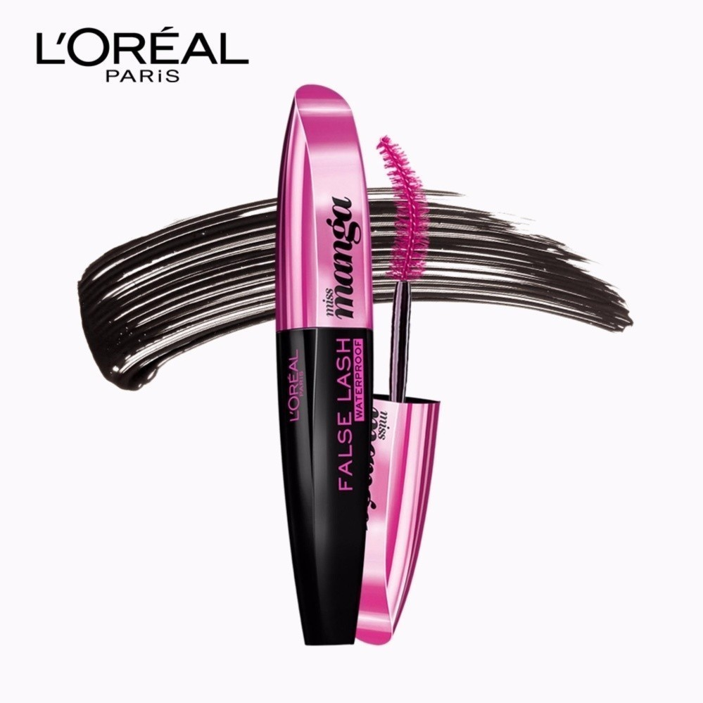 Maskara Drugstore Yang Bagus Dan Tahan Lama Article Plimbi Loreal False Lash Miss Manga Mascara Waterproof Hitam Paris