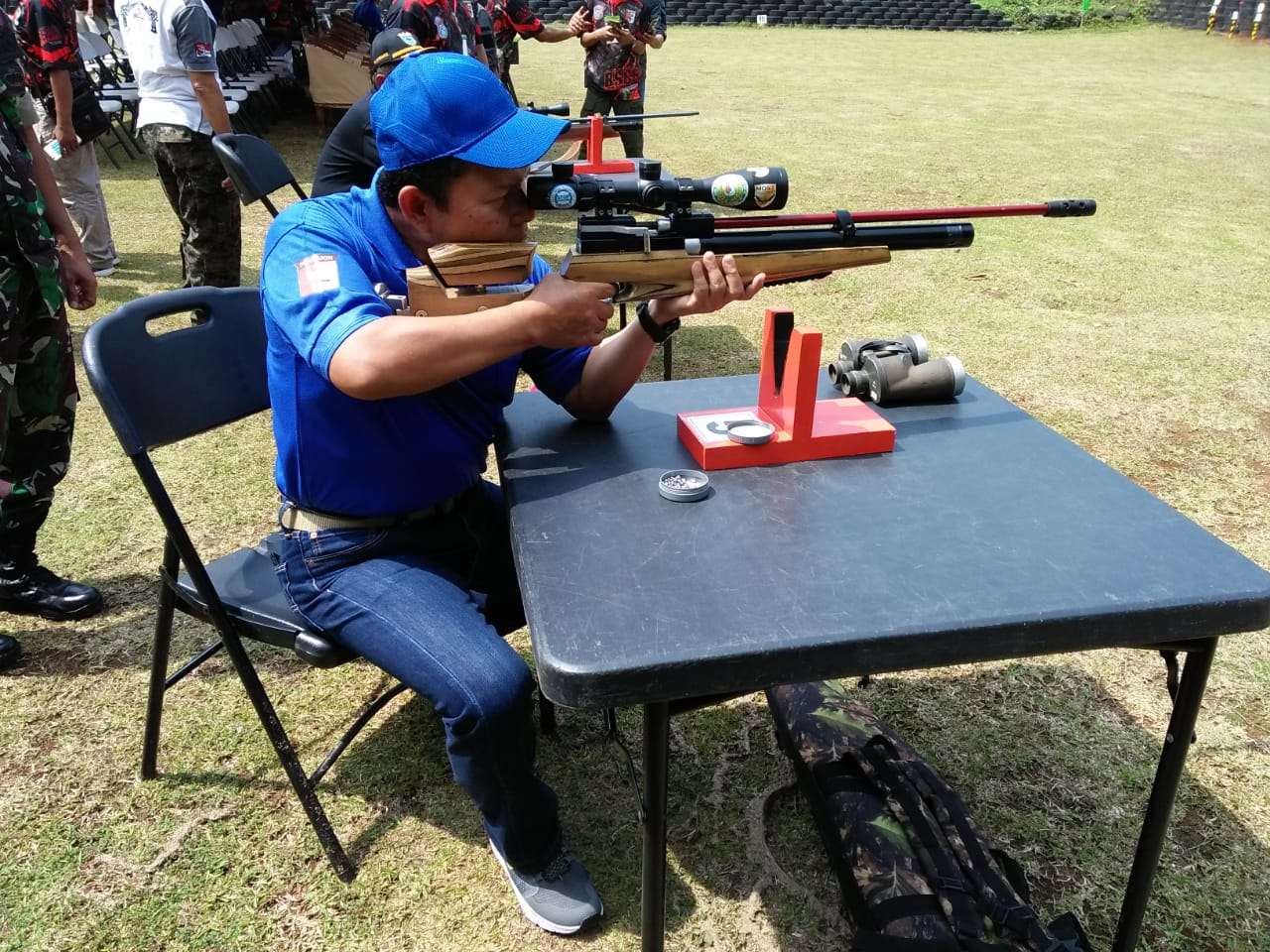 Danrem Buka Kejuaraan  Menembak BSCB Piala Danrem 064/My Open Shooting Tournament