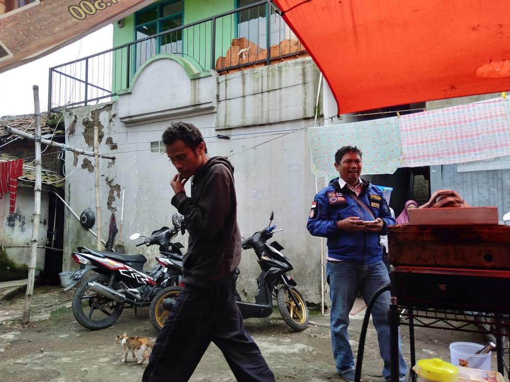 Dadang Wahidin TKSK Dayeuhkolot Tanpa Mengenal Rasa Lelah Selalu Menjalankan Tugasnya