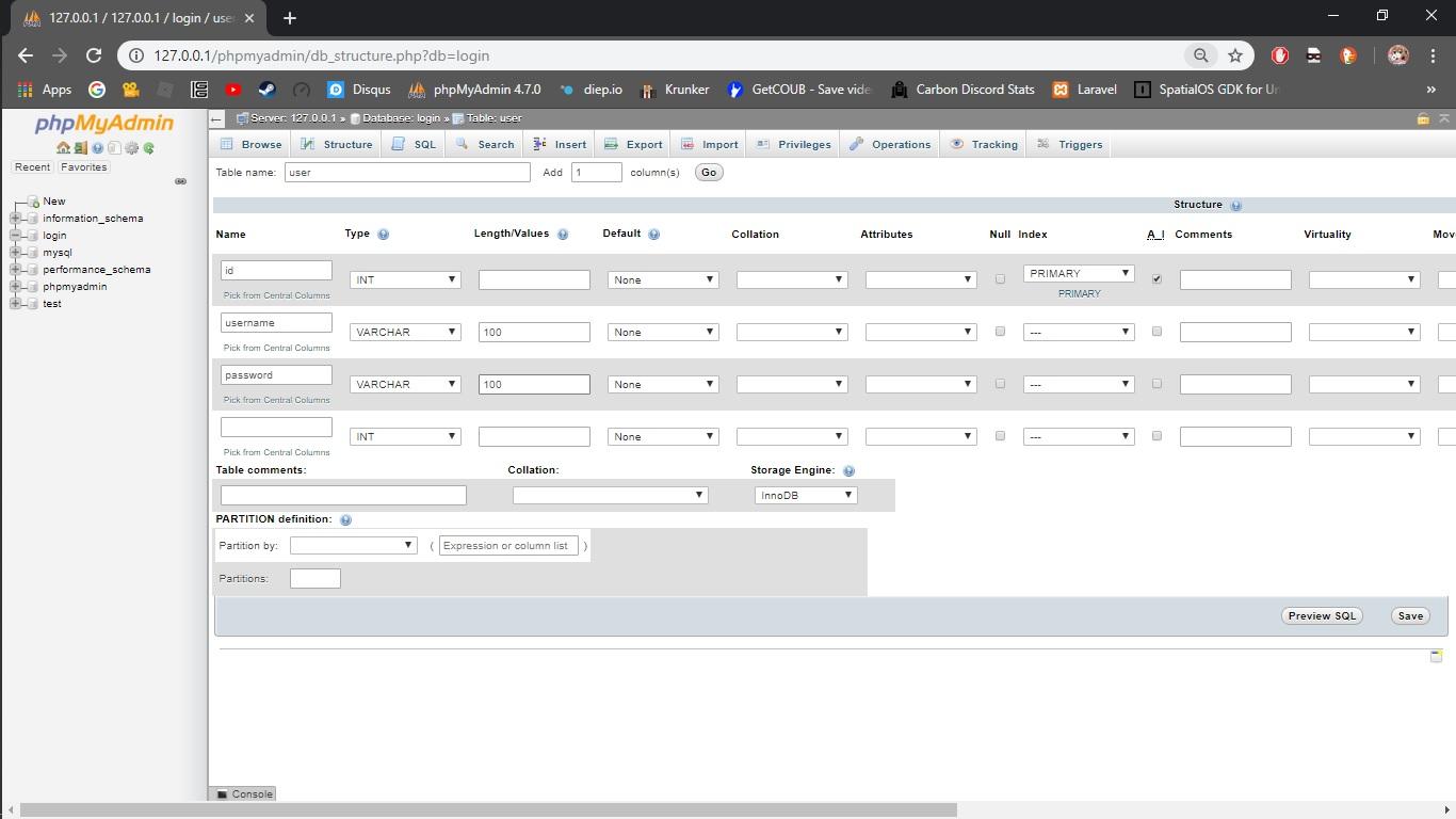 Cara membuat Form login dinamis dari Data Base (Part 1)